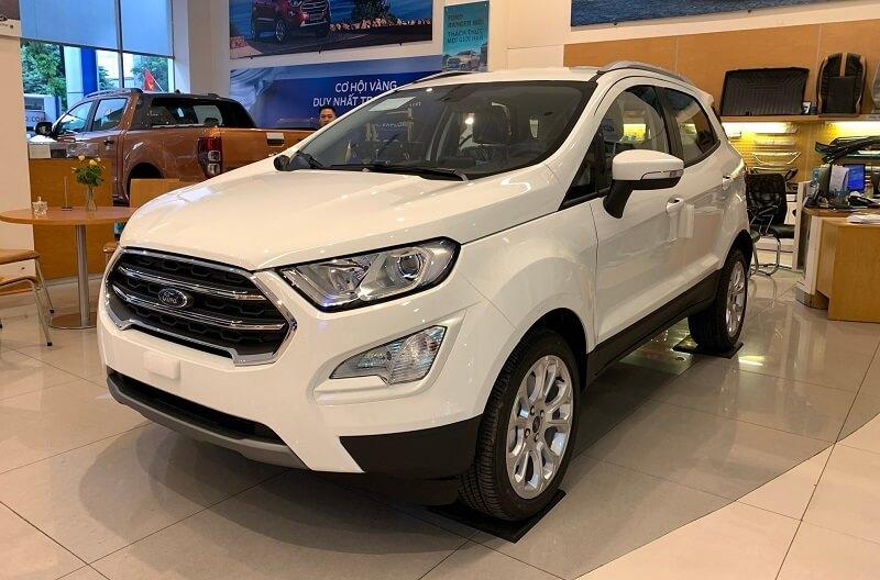 Hình Ảnh Ford Ecosport Titanium 1.5L 2021 2021 màu trắng tại Ford Thăng Long